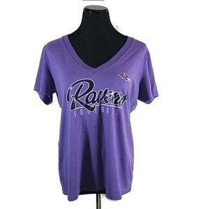 SOLD NFL Team Apparel Baltimore Ravens Tee